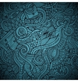 fashion decorative doodles background vector image