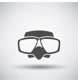 Scuba Mask Icon vector image
