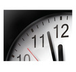 Clock Close Up vector image vector image