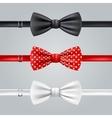 Bow Ties Realistic Set vector image vector image