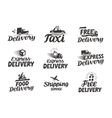 Express delivery service logo icon or vector image