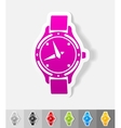 realistic design element watch vector image