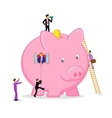 Saving and Investment vector image