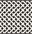 weave seamless pattern stylish repeating texture vector image
