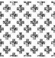 Scandinavian minimal style cross pattern with vector image