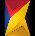 Background modern material geometric design vector image