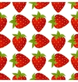 strawberries seamless isolated vector image