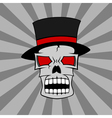 skull 2 vector image vector image