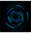abstract of blue circles vector image