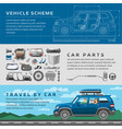 car repair auto service mechanic garage vector image