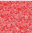 pattern with hearts vector image vector image