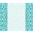 Islamic brochure vector image