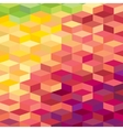 Colourful rhombic background For prints web vector image