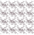 geometric seamless pattern in the style of boho vector image