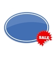 Sale label Sticker with sale text vector image vector image