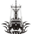 NAVY Military Design - vector image