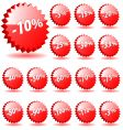 discount prices vector image vector image