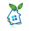 eco home image vector image vector image