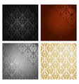 Vintage background Seamless pattern vector image