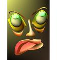 Face Cartoon vector image