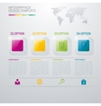 business marketing Infographic vector image