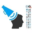Propaganda Megaphone Icon With Free Bonus vector image