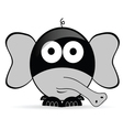 sweet and cute elephant vector image