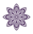 Mandala Vintage decorative element Oriental vector image