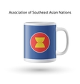Association of Southeast Asian Nations flag vector image