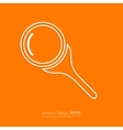 Stock Linear icon search vector image