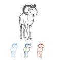 Bighorn Ram vector image vector image