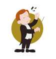 conductor vector image