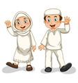 Muslims vector image vector image