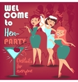 Hen party Women vector image