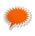 Speech Bubbles Stickers vector image