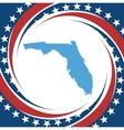 Vintage label Florida vector image