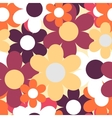Flowers Nature Seamless Pattern Background vector image