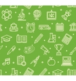 School Background Pattern vector image