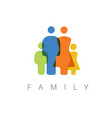 family concept vector image vector image
