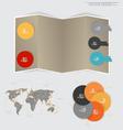 Modern design layout modern design template vector image