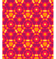 red orange yellow color abstract geometric vector image