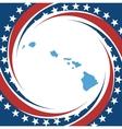 Vintage label Hawaii vector image vector image