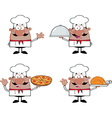 Chef cartoon vector image vector image