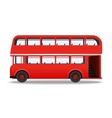London red bus vector image
