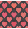 Abstract pink red seamless grunge pattern vector image