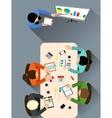 Office meeting room vector image