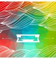 Card abstract geometric background vector image vector image