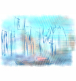 Detroit abstract vector image