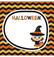 Halloween theme vector image