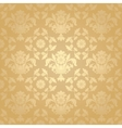 seamless pattern floral background vector image vector image